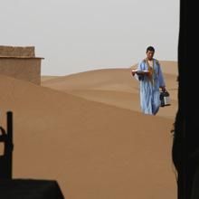 Wüstenfahrt: Unser Frühstück