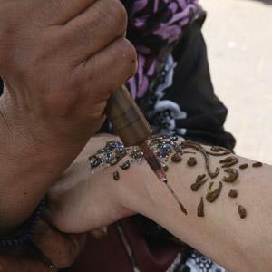 Marrakesch Souks - Henna