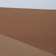 Wüstenfahrt - die großen Sanddünen