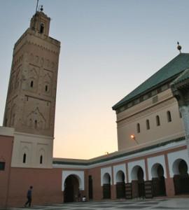 Gesichter Marrakeschs - Moschee