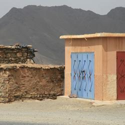 Von Marrakesch nach Ouazazarte - Atlasgebirge, Tizi n'Tichka Pass